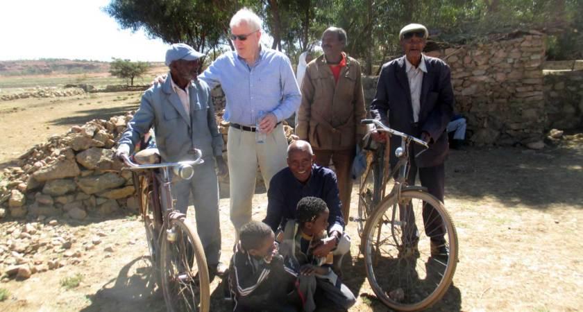 Jimmy Deenihan: From the Dáil to Eritrea