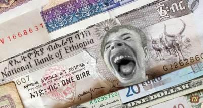 Ethiopia Birr devalued