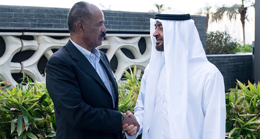 Mohamed bin Zayed Receives President of Eritrea