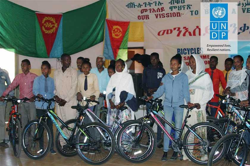 Bikes for Education support program