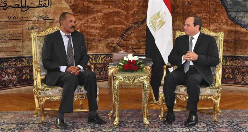 President El-Sisi Receives Eritrean President