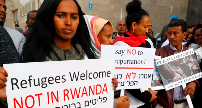 Uganda ready to receive 500 African asylum seekers from Israel