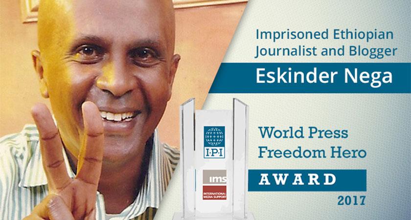 Eskinder Nega Refuses to Sign False Confession in Exchange for Prison Release