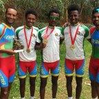 <Eritrea Conquers African Championship Team Time Trials Again