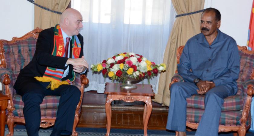 FIFA President Gianni Infantino Visits Eritrea