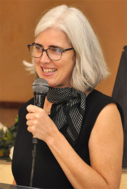 Karalyn Monteil, culture specialist for UNESCO