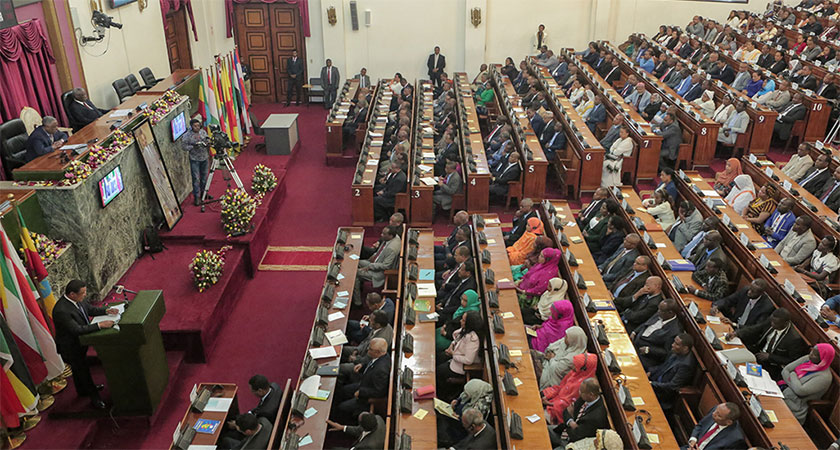 Ethiopian Parliament Rigged State of Emergency Vote