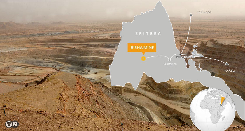 Nevsun extends the life of its flagship copper-zinc Bisha mine in Eritrea to the end of 2022.