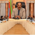 <Eritrea Council of Ministers Holds Meeting