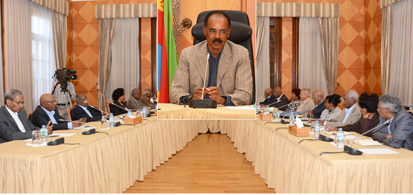 Eritrea Council of Ministers Holds Meeting