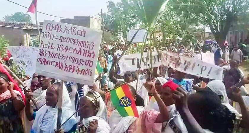 Tigray People Protests Implementation of Peace Deal With Eritrea