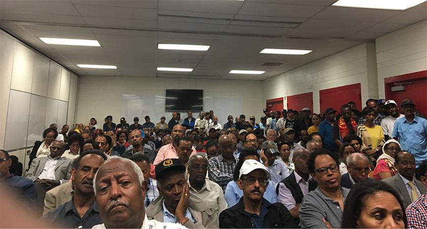 Panel discussion participants at the Eritrean Festival 2018 in Washington D.C.