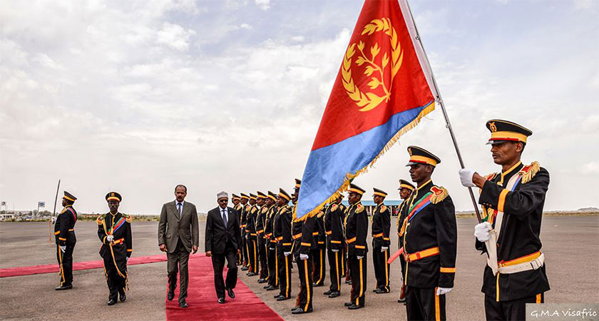 Eritrea once again calling for the immediate and unconditional lifting of the unjust sanctions