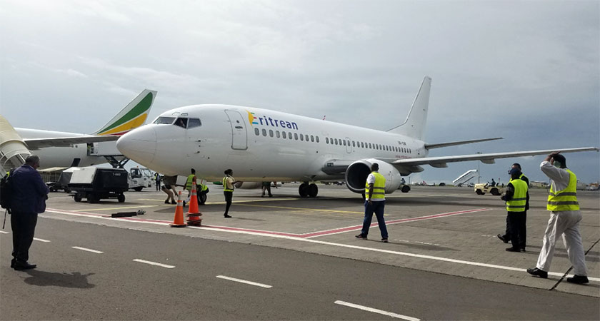 Eritrean Airlines Begins Flight to Addis Ababa