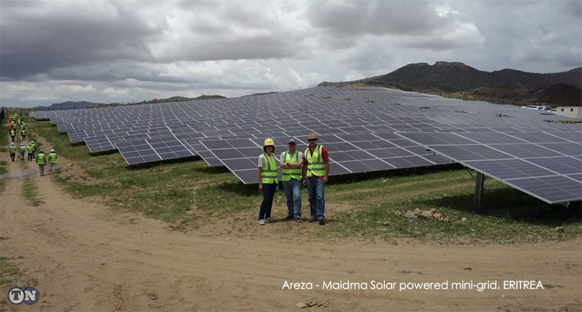 The Areza – Maidma solar powered mini-grid project