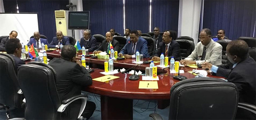 Joint High-Level Committee of Eritrea, Ethiopia, and Somalia in Djibouti