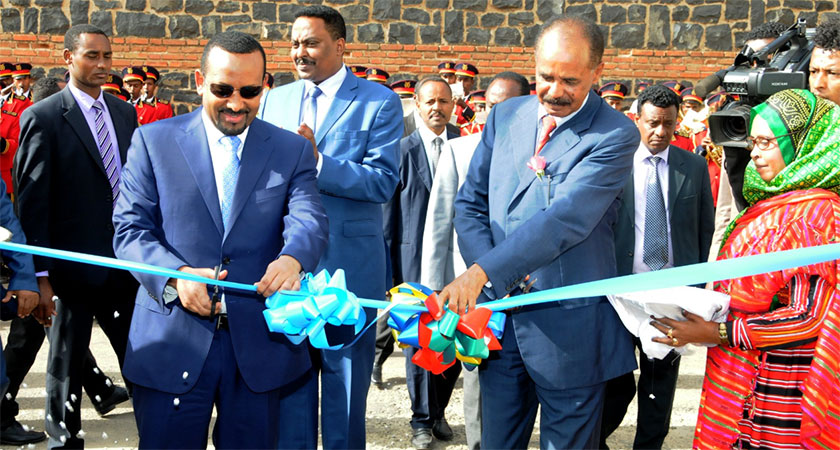 The Peace with Ethiopia is just that: Peace with Ethiopia