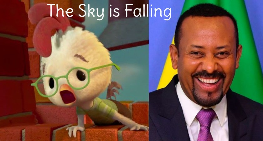 The Chicken Littles in Ethiopia Are Clucking – 'The Sky is Falling!'