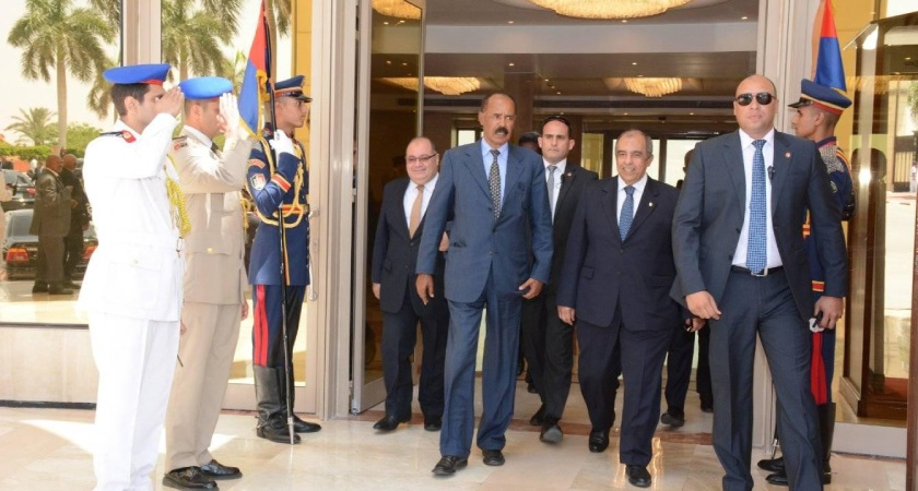 President Isaias in Cairo on Two-Day Visit