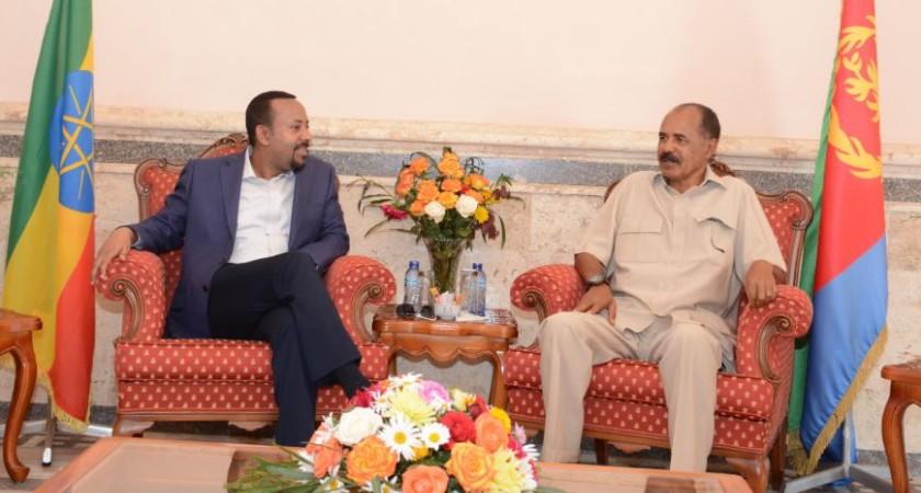 Ethiopia, Eritrea Leaders Mark One Year Anniversary of Peace