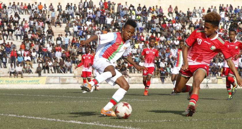 cecafa u15: Eritrea lost to Kenya 2-1