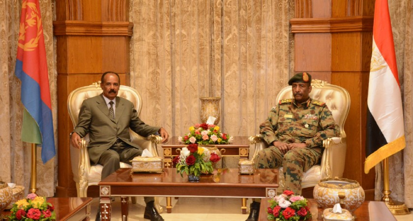Leaders of Eritrea, Sudan Discuss Cooperation