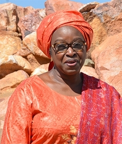 Bineta Diop, AU Special Envoy on Women Peace & Security.