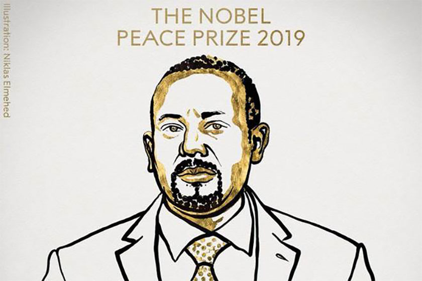 The Nobel Prize was supposed to arrive in the Horn of Africa as early as four years ago when Kristian Berg Harpikenhad nominated Don Mussie Zerai for the 2015 Nobel Peace Prize.