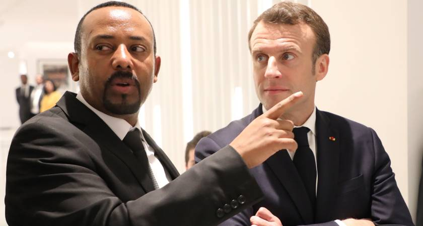 Le Point newspaper obtained Ethiopian Prime Minister's shopping list of arms from France