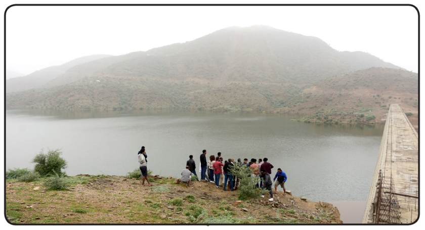 Gahtelay Dam is the 3rd largest dam in Eritrea