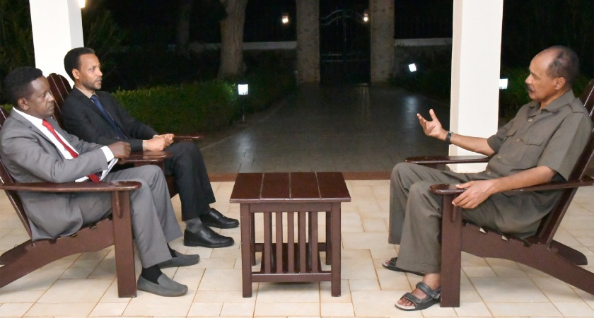 President Isaias Interview on regional issues