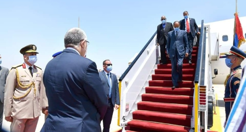 President Isaias on Working Visit to Egypt (Update)