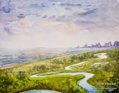 myrtle-beach-sc-plein-air-beach-painting-watercolor-7-tesh-parekh