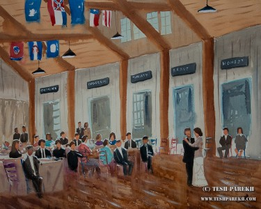 asheville nc live wedding painting live wedding painter