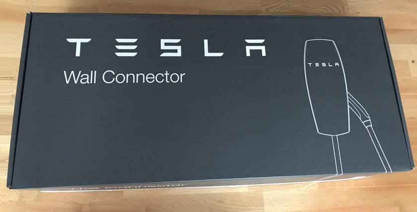 Tesla Wall connector box
