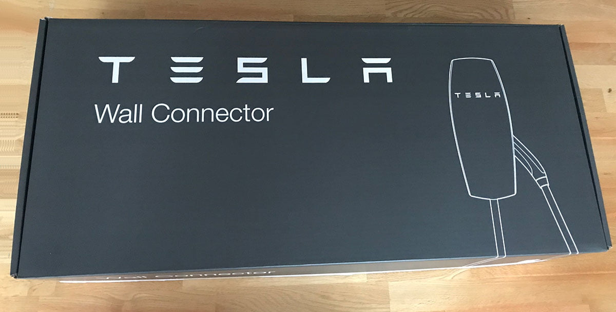 Tesla Wall connector box