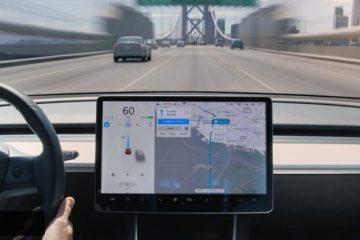 Tesla Autopilot trip