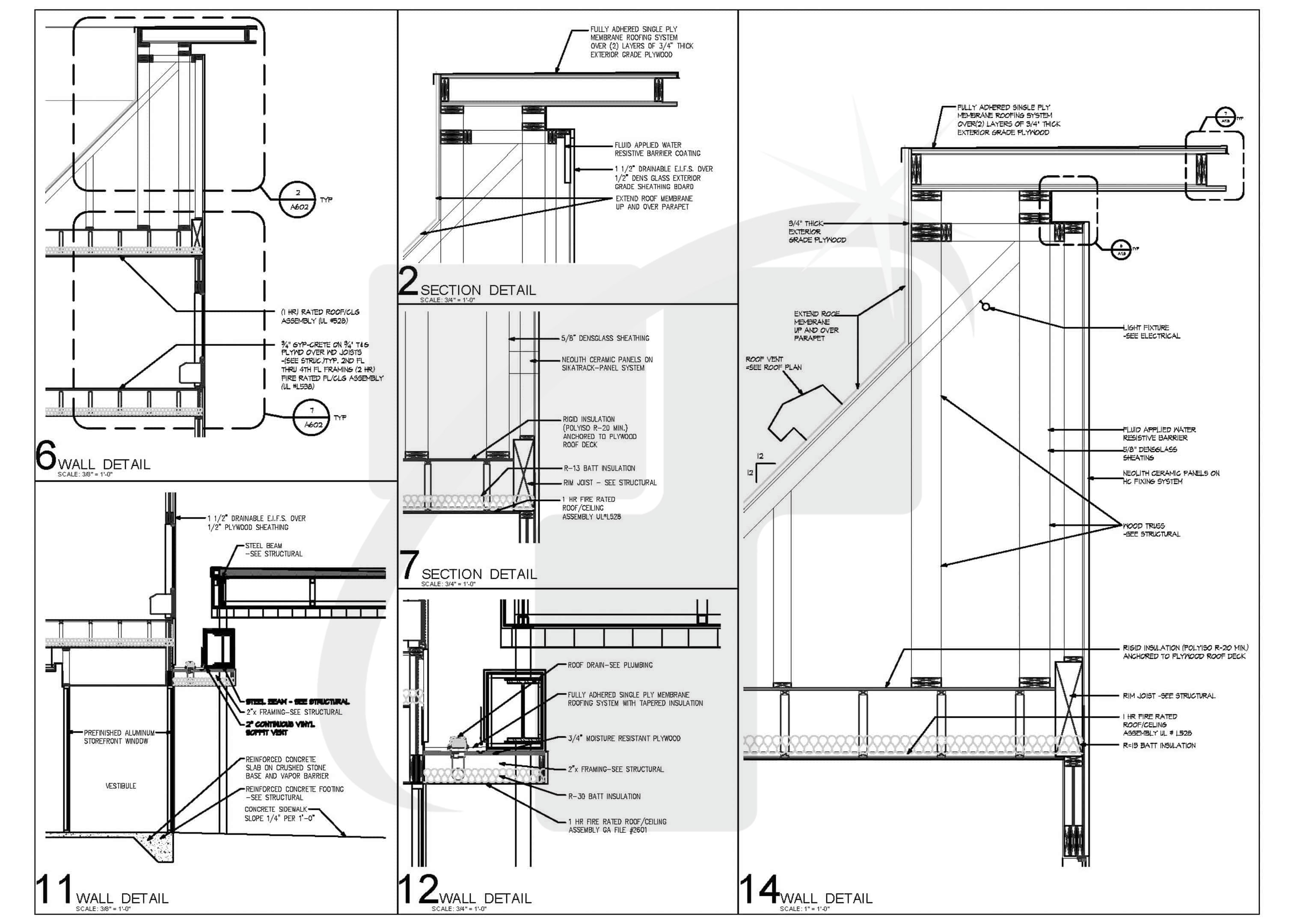 Structural Drawing For Residential Building