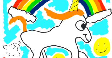 Unicorn drawn by Elon Musk