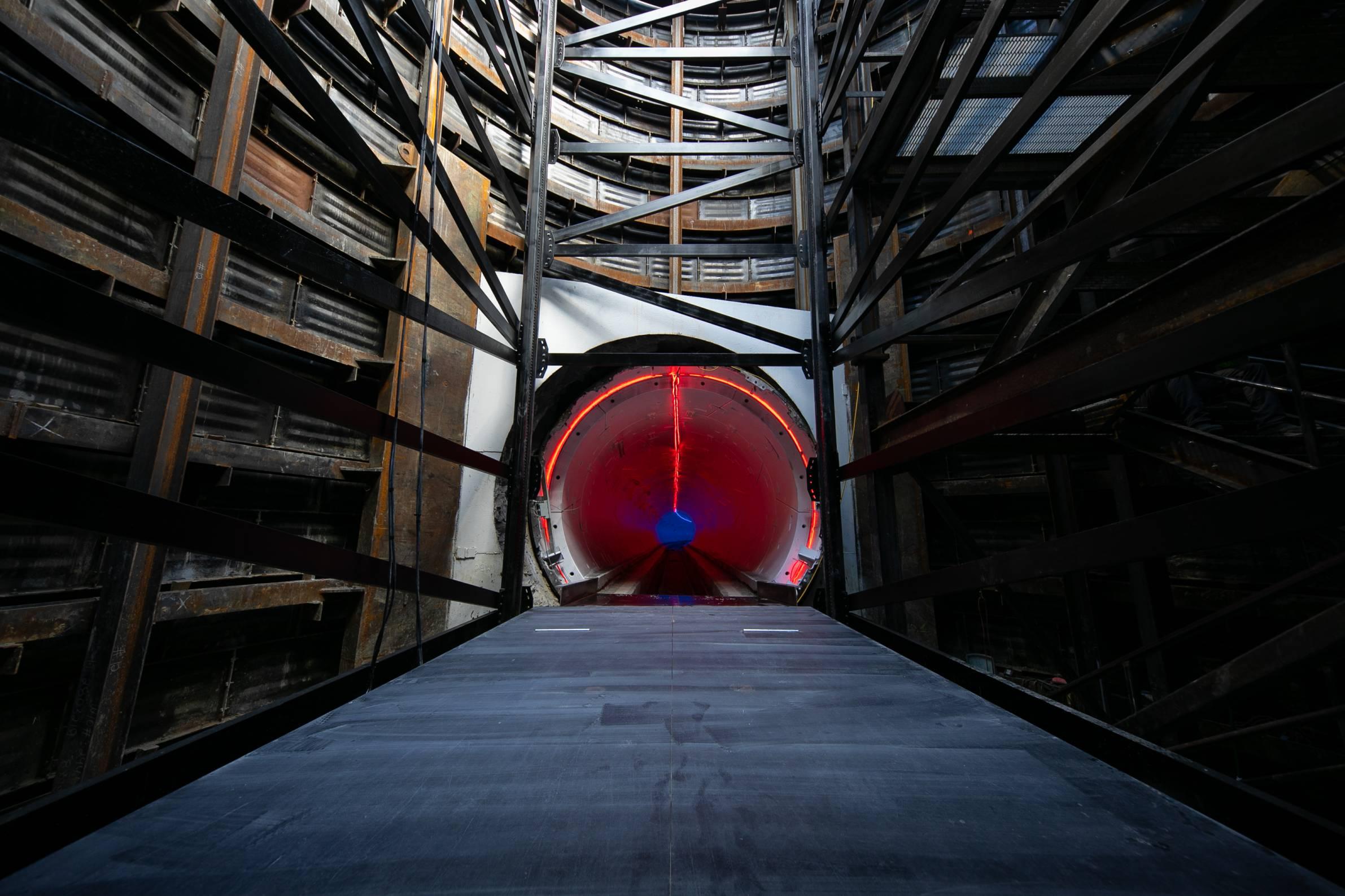 Boring Companys Next Gen Tunneling Machine Line Storm