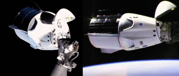 SpaceXs Crew Dragon flawlessly docks with space station