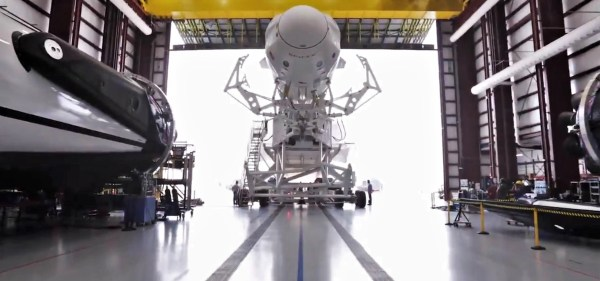SpaceX hangar packed with Falcon Heavy Block 5 boosters ...
