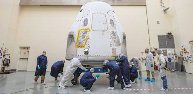 In a major twist, NASA has effectively confirmed that Astronaut will become the first private company in history to launch astronauts into orbit.  (SpaceX)