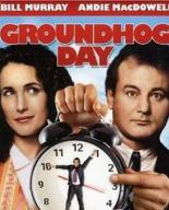 groundhog day movie cover