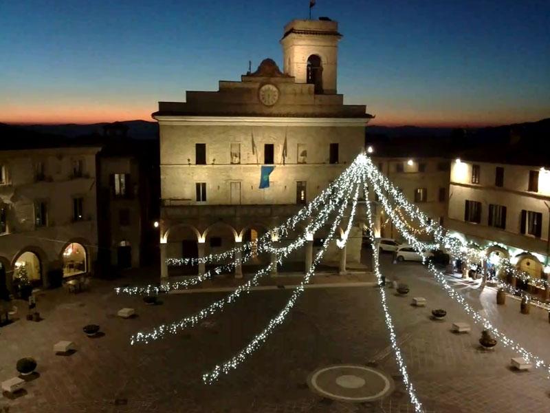 Arrivo del Natale a Montefalco