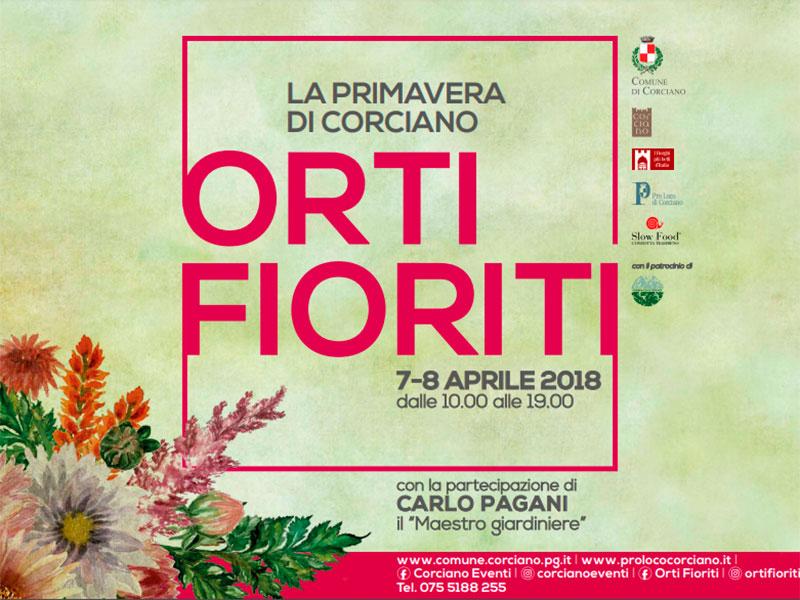 Connubio di arte, storia e bellezze del territorio  per la seconda edizione di Orti Fioriti
