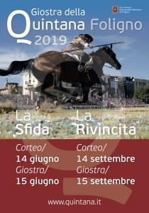 Giostra della Quintana 2019-locandina