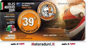 Motoraduno Internazionale Giro dell'Umbria-locandina