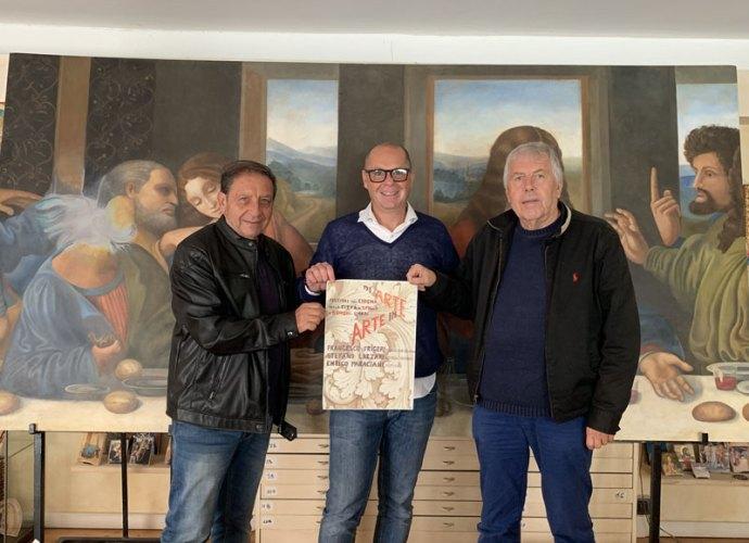 Francesco-Frigeri-in-mostra-al-Festival-del-Cinema-di-Spello-insieme-a-Stefano-Lazzari-ed-Enrico-Paraciani-copertina