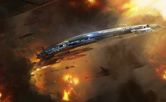 Mass Effect 3 Normandy SR2